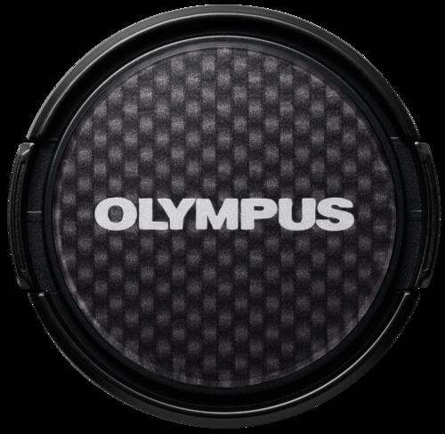 Olympus LC-37 PR Dress-Up Lens Cap Carbon Look
