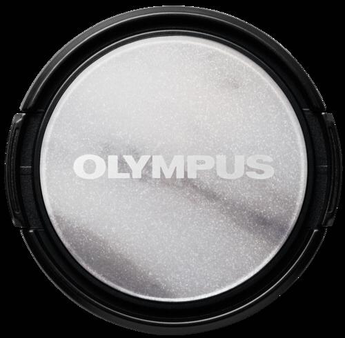 Olympus LC-37 PR MRB Dress-Up Lens Cap Marble Look