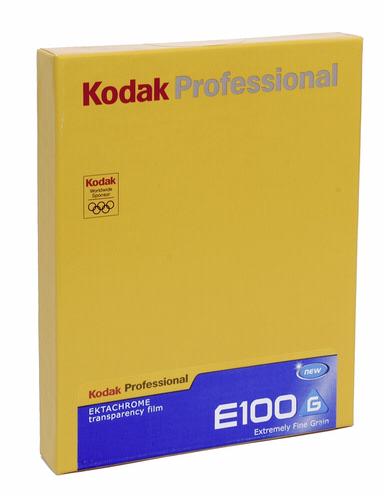 Kodak E-100 G 4x5 10 sheets