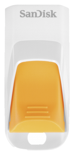 SanDisk Cruzer Edge 16GB USB 2.0 White/Orange
