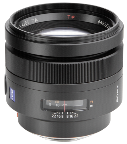 Sony 85mm f/1.4 Carl Zeiss
