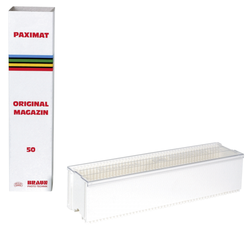 Braun Paximat Magazin 50 white