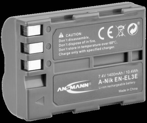 Ansmann Nikon EN-EL3e 1400mAh