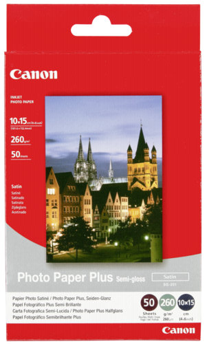 Canon SG-201 Semi Gloss 10x15cm 260gr (50 sheets)