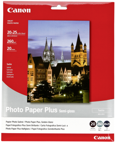Canon SG-201 Semi Gloss 20x25cm 260gr (20 sheets)