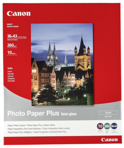 Canon SG-201 Semi Gloss 36x43cm 260gr (10 sheets)