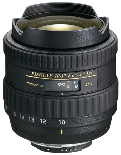 Tokina AT-X 10-17mm f/3.5-4.5 DX AF Canon