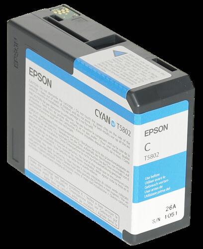 Epson Cartridge T5802 Cyan