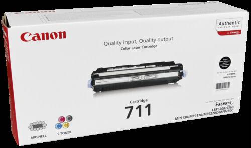 Canon Toner Cartridge 711BK Black