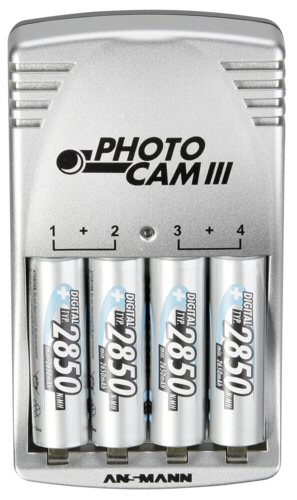 Ansmann Photo Cam III with 4 AA NiMH 2850mAh