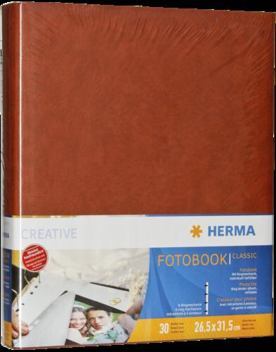 Herma Ringalbum 240 classic brown - 60 pages