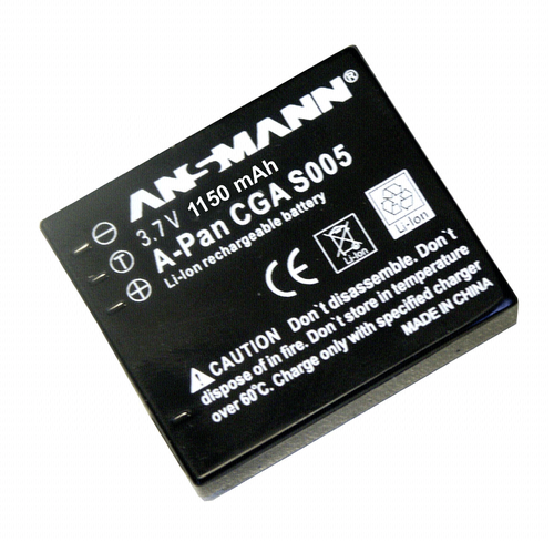Ansmann Panasonic CGA-S005 1150mAh