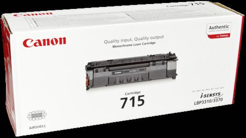 Canon Toner Cartridge 715BK Black