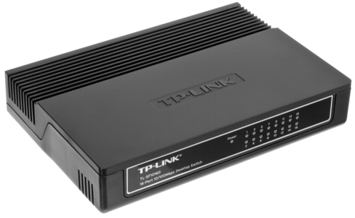 TP-LINK TL-SF 1016 D 16-port 10/100 Desktop Switch