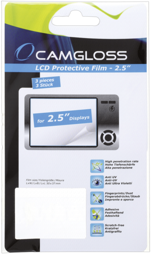 Camgloss Displaycover 2.5 1x3