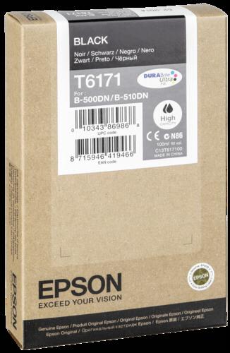 Epson Cartridge T6171 Black