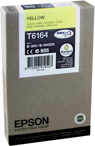 Epson Cartridge T6164 Yellow