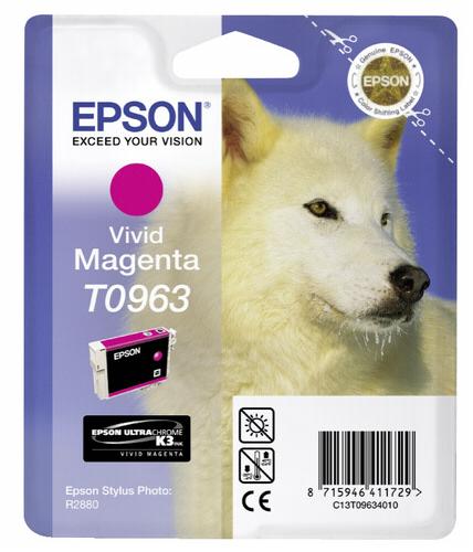 Epson ink cartridge vivid magenta T 096