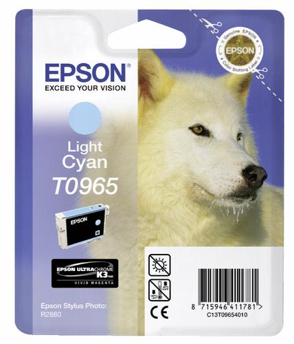 Epson ink cartridge light cyan T 096