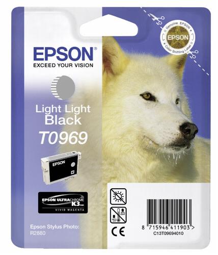 Epson ink cartridge light light black T 096