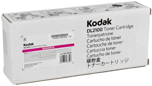 Kodak DL 2100 Duplex Printer Toner Magenta 850 Duplex Sheets