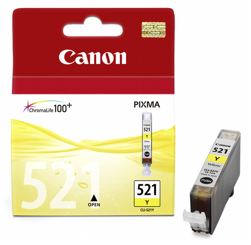 Canon CLI-521 Y Yellow