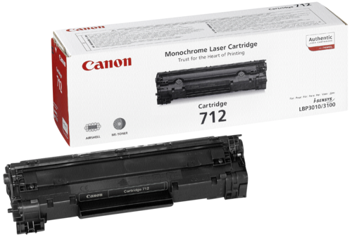 Canon Toner Cartridge 712BK Black