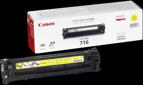 Canon Toner Cartridge 716Y Yellow