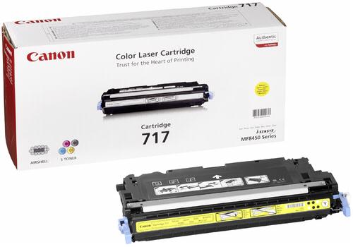 Canon Toner Cartridge 717Y Yellow