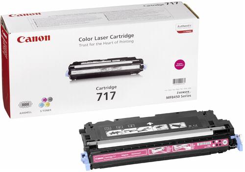Canon Toner Cartridge 717M Magenta