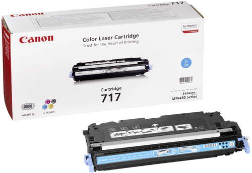 Canon Toner Cartridge 717C Cyan