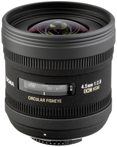 Sigma EX 4.5mm f/2.8 DC Fisheye HSM Sony