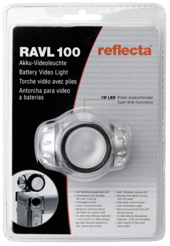 Reflecta RAVL-100 LED Video Light