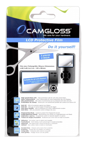 Camgloss Displaycover Do it Yourself 120x90mm 1x3