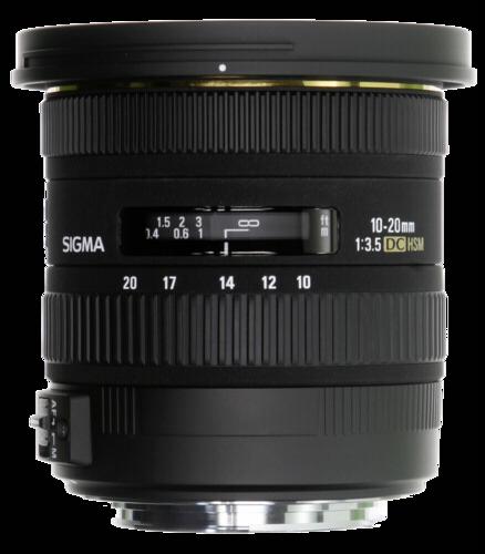 Sigma EX 10-20mm f/3.5 DC HSM Pentax