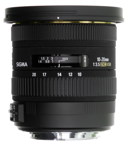 Sigma EX 10-20mm f/3.5 DC HSM Sony