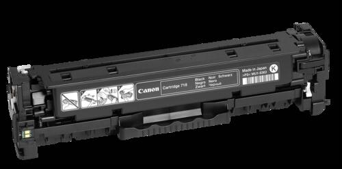 Canon Toner Cartridge 718BK Black
