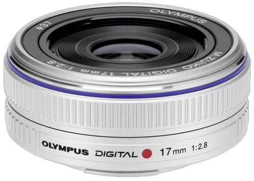 Olympus M.Zuiko ED 17mm f/2.8 Pancake Silver