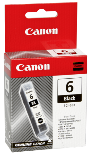Canon BCI-6 BK Black