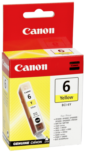 Canon BCI-6 Y Yellow