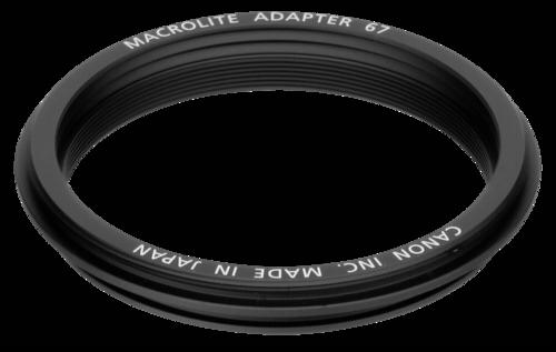 Canon Macrolite Adapter 67C