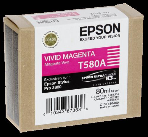 Epson Cartridge T580A Magenta