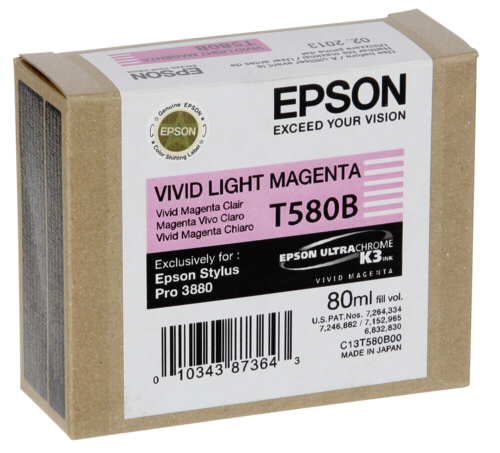 Epson Cartridge T580B Magenta