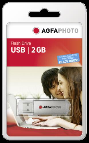 AgfaPhoto 2GB USB 2.0 Silver