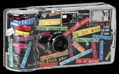 Single use Camera Flash 400 27 i mog di Black