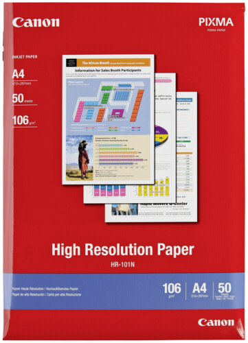 Canon HR-101N High Resolution A4 106gr (50 sheets)
