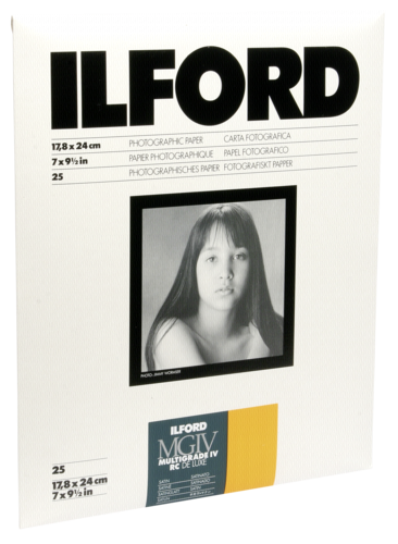 Ilford MG IV RC 25M Satin 18x24cm (25 sheets)