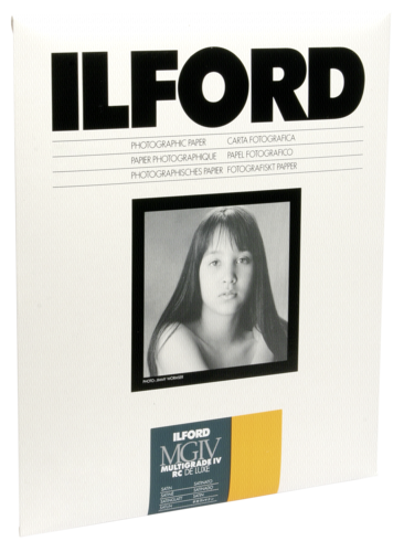 Ilford MG IV RC 25M Satin 24x30cm (10 sheets)