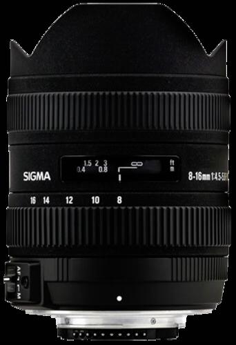 Sigma 8-16mm f/4.5-5.6 DC HSM Canon