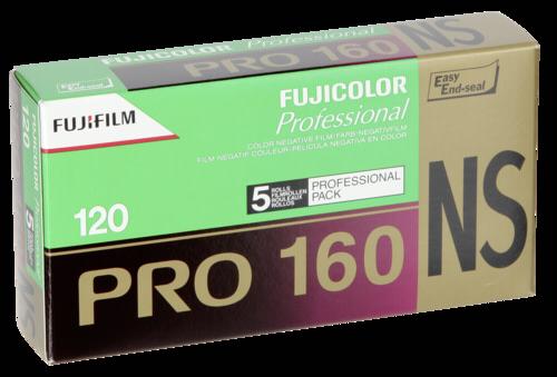 Fujifilm Pro 160NS 120 1x5